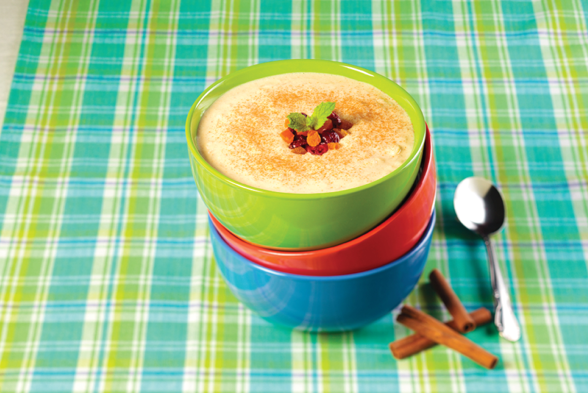 Cinnamon Rice Porridge
