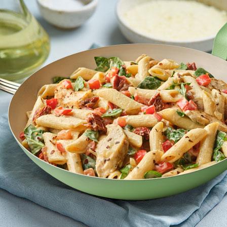 Easy Creamy Chicken Pasta