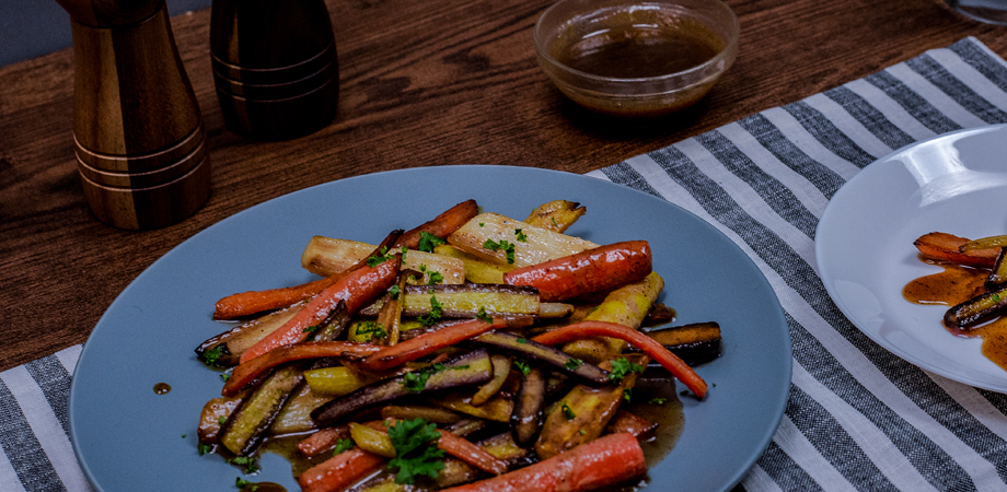 Chipotle Caramelized Carrots