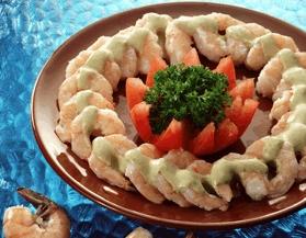 Botana de camarón
