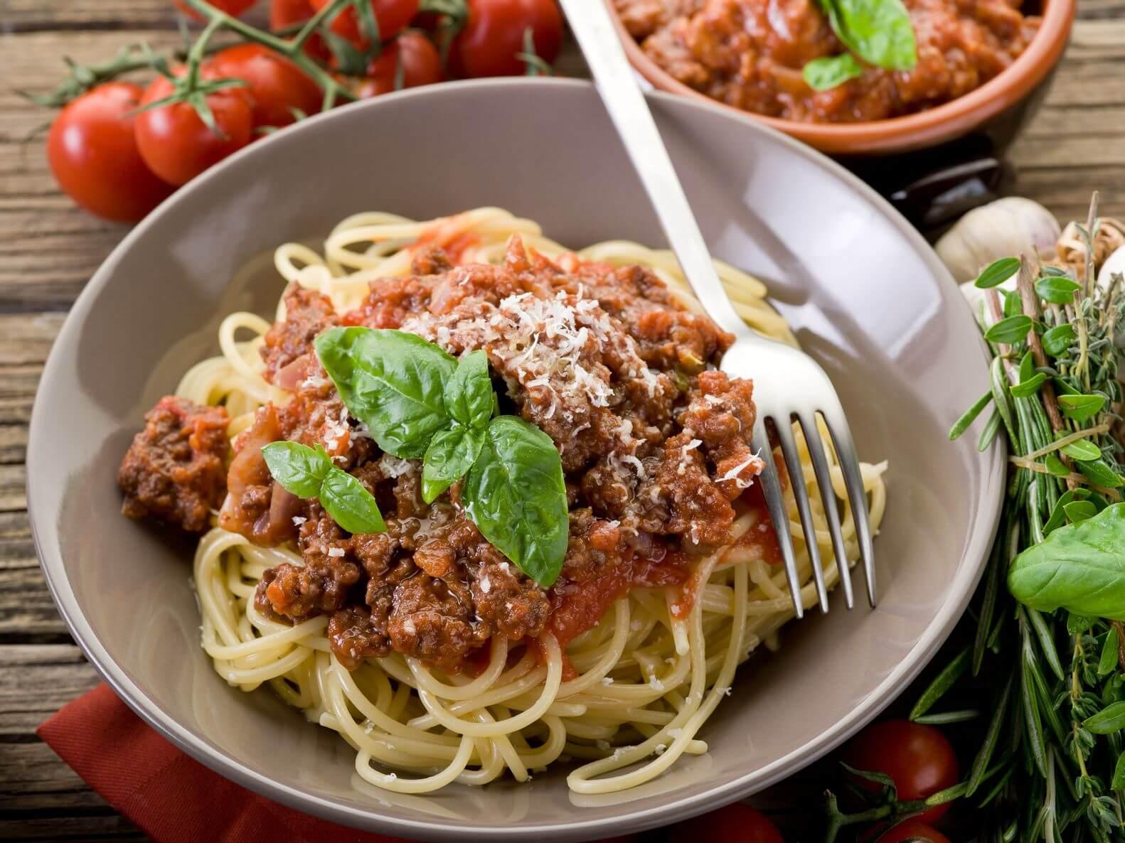 Meatless lover's ragu spaghetti sauce