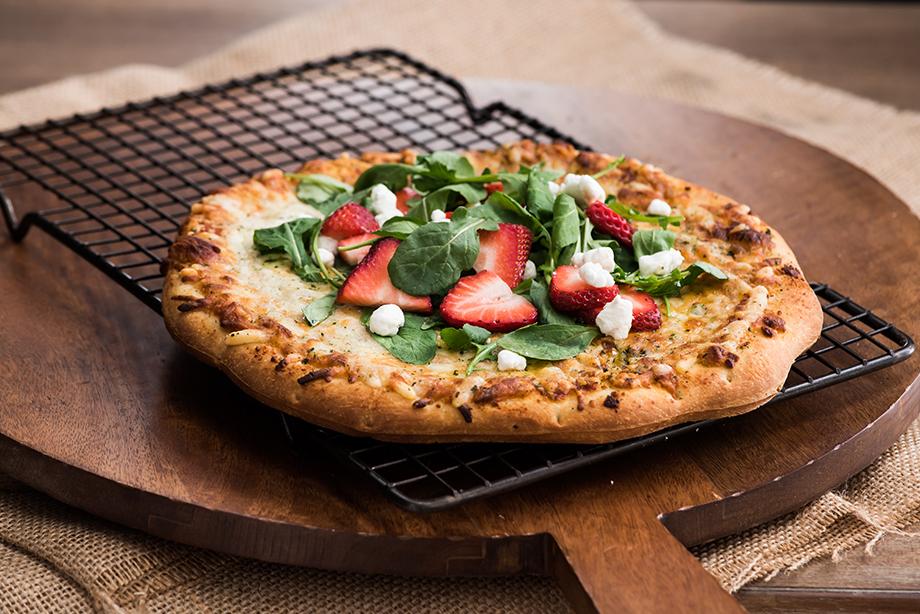 Strawberry Arugula Pizza