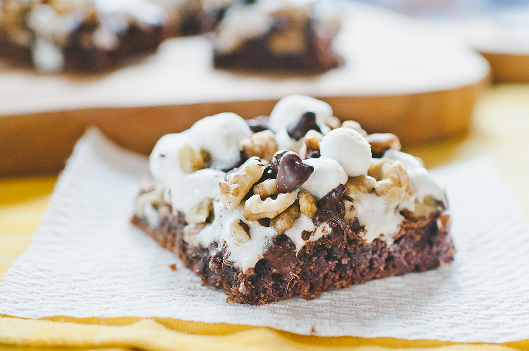 Chocolate Rocky Road Bars