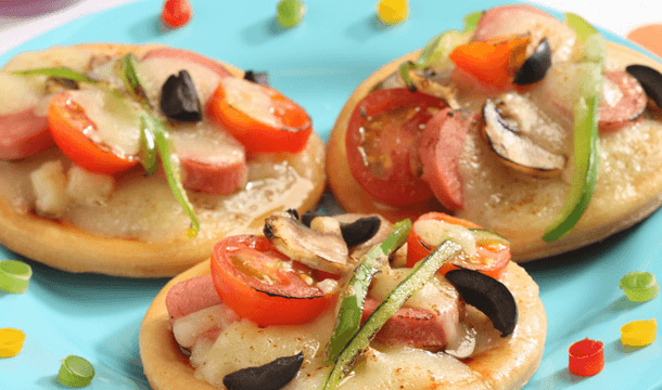 Mini pizzetas