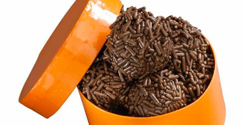 Lechibolas de chocolate con granillo