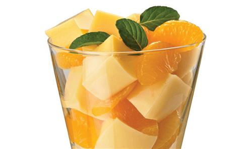 Gelatina de mandarina