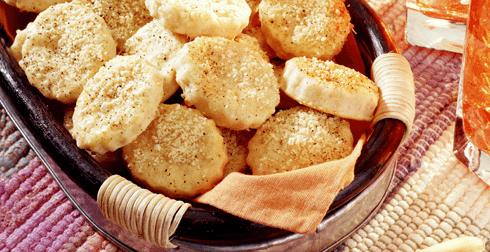 Galletas de dos quesos