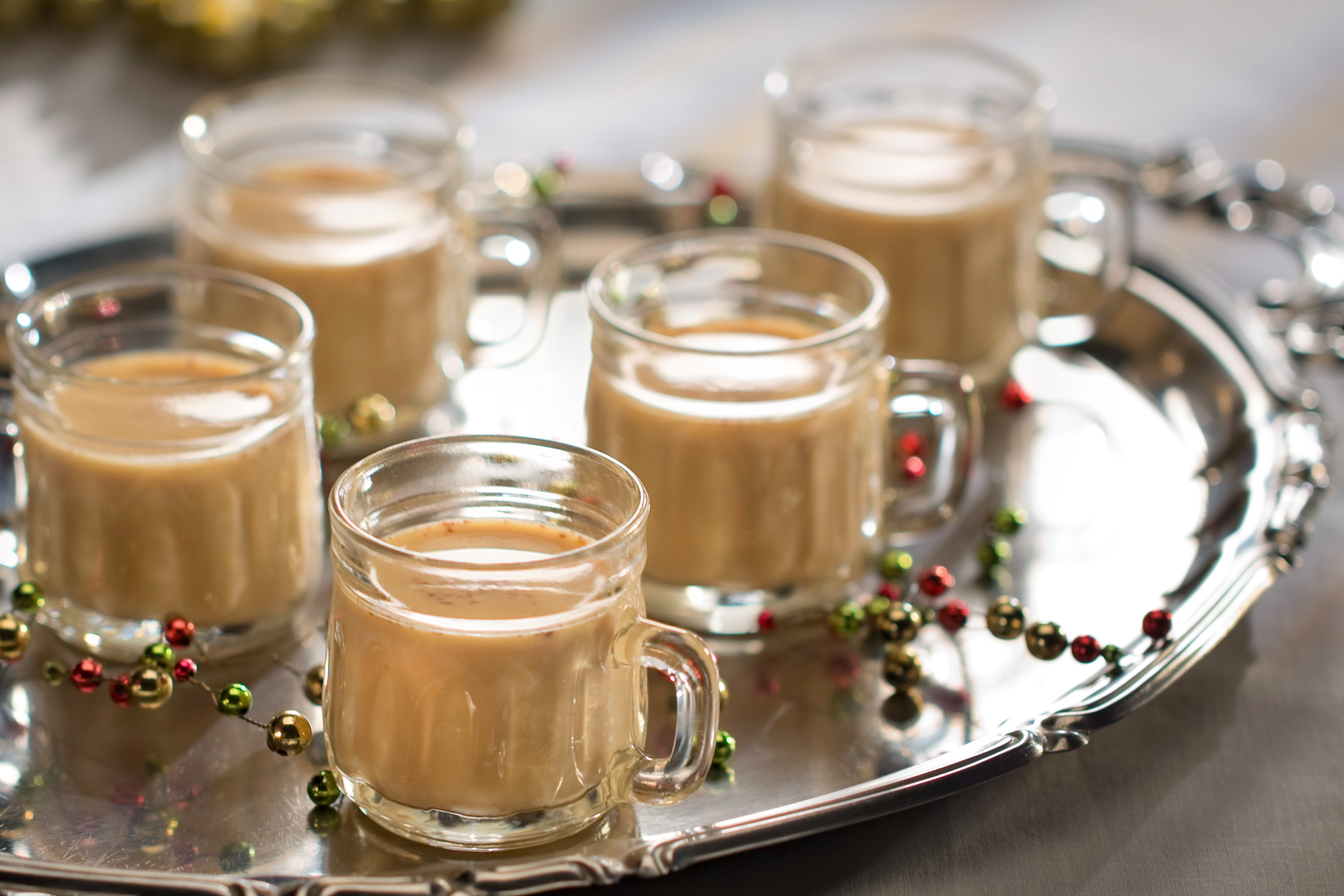 Ponche de Cacao y Ginebra