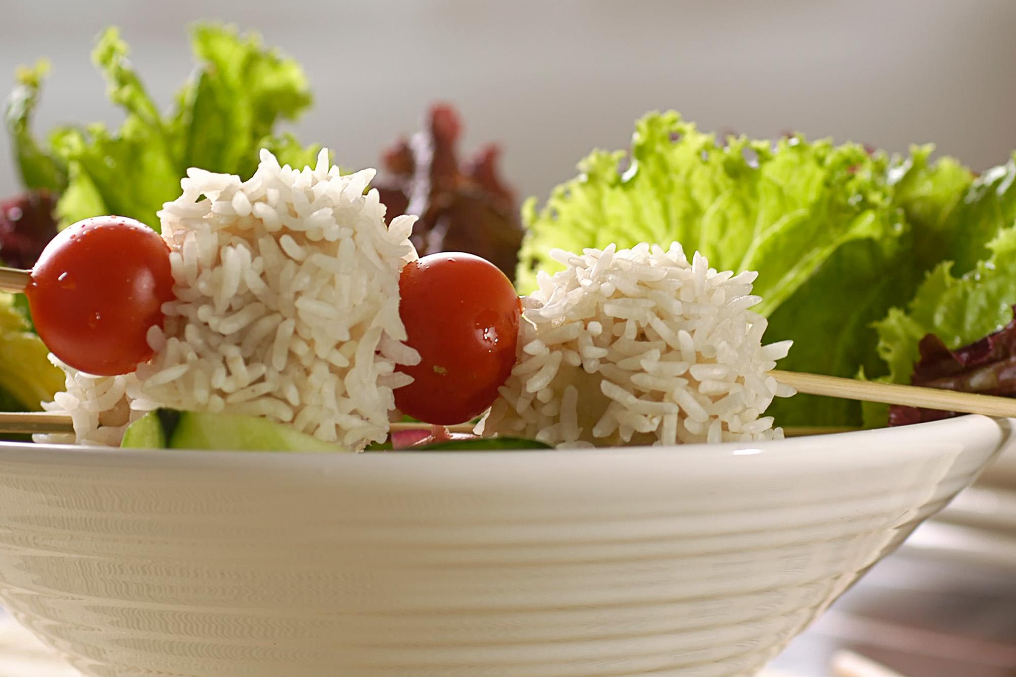 Erizos de Mar con Verduras Grilladas