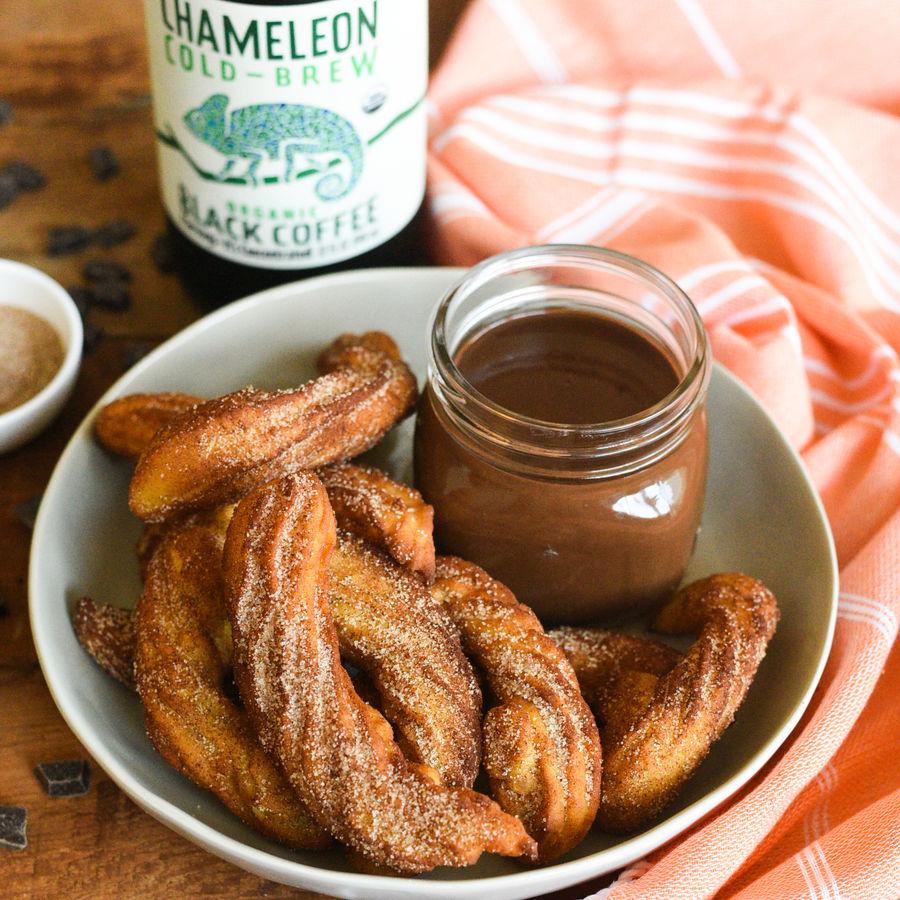 Chameleon Cold-Brew Churros Con Chocolate