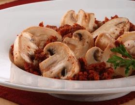 Champiñones con Chorizo