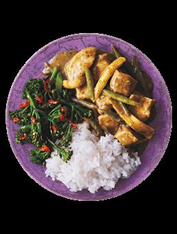 Maggi® So Juicy® Thai Green Curry