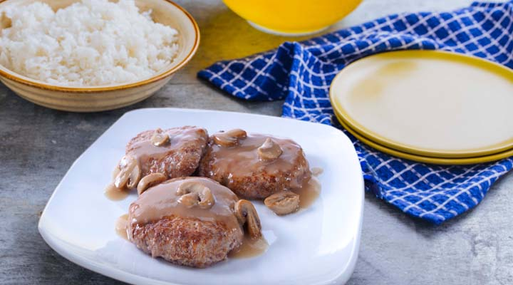 Pinoy Burger Steak