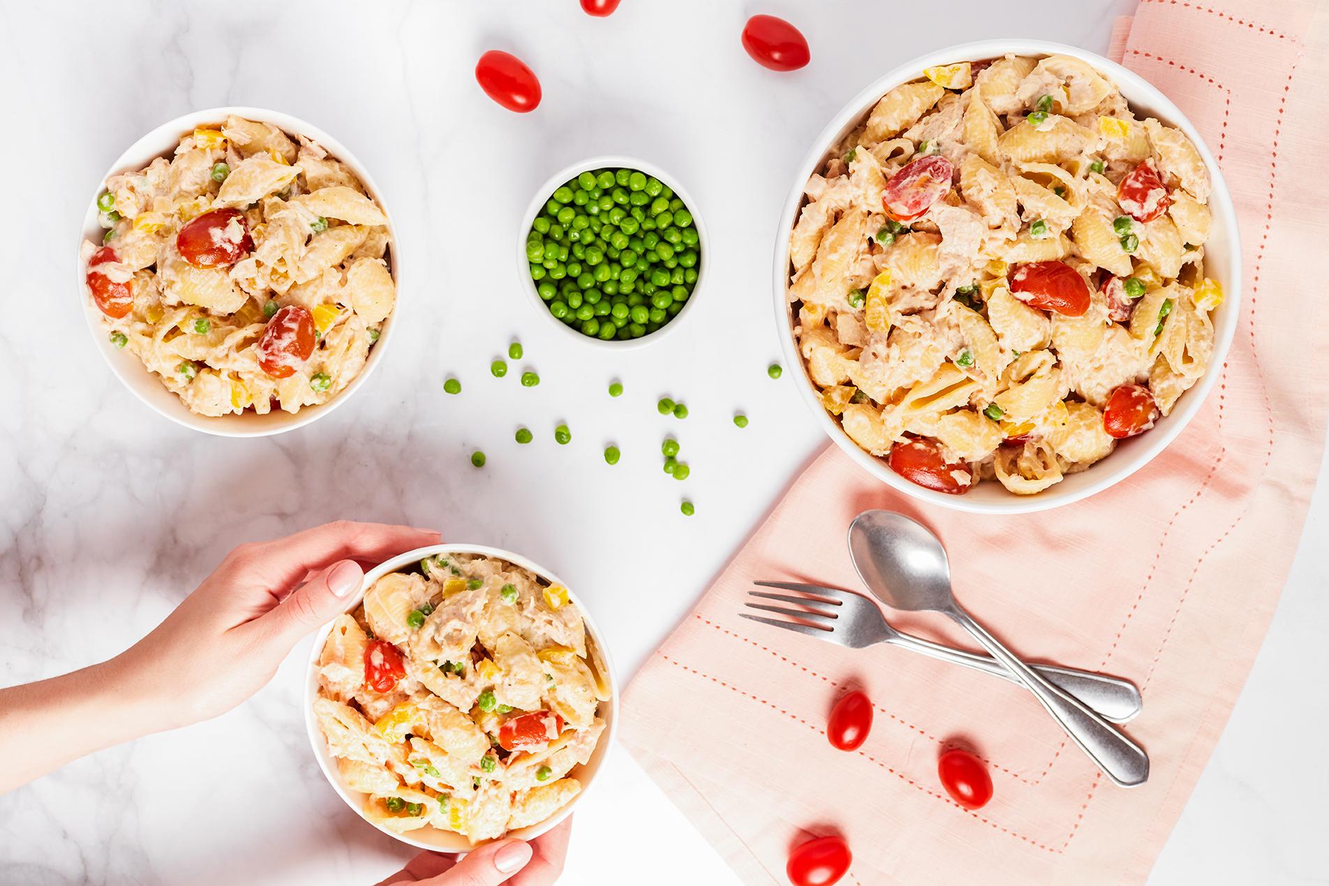 Creamy Tuna &Vegetable Pasta