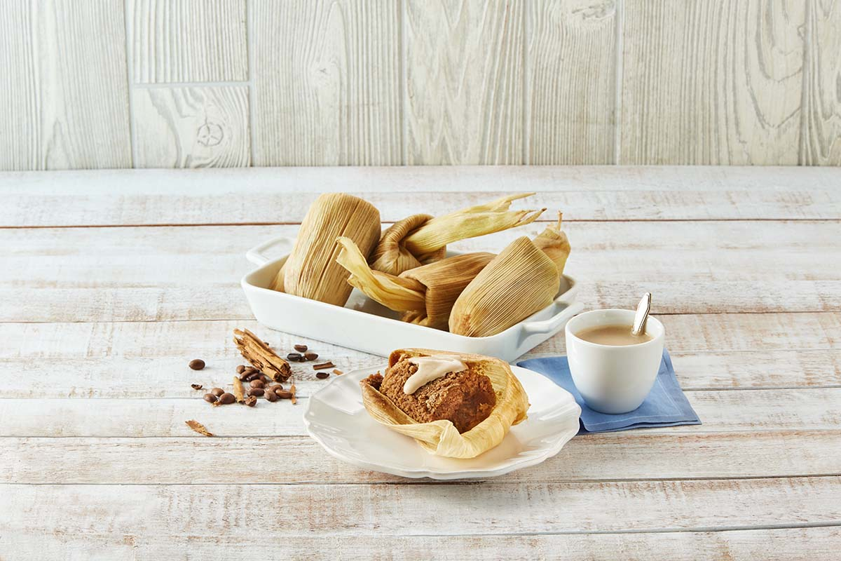 Tamales de café de olla