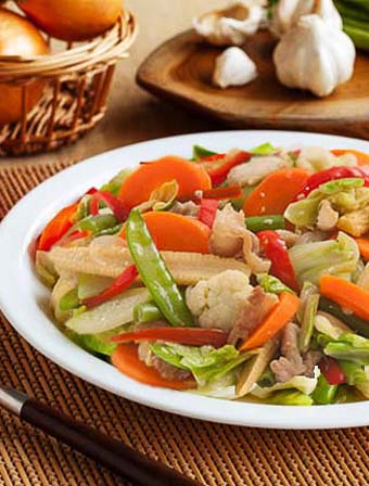 Chopsuey with Pork