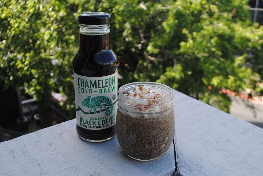 Chameleon Cold-Brew Coffee Chia Pudding