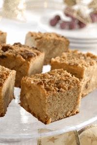 Budín de pan y cacahuate