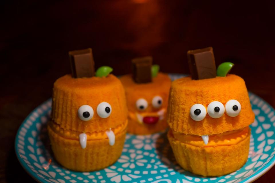 Petits gâteaux citrouille KIT KAT