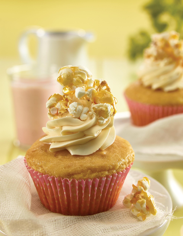 Cupcakes de palomitas