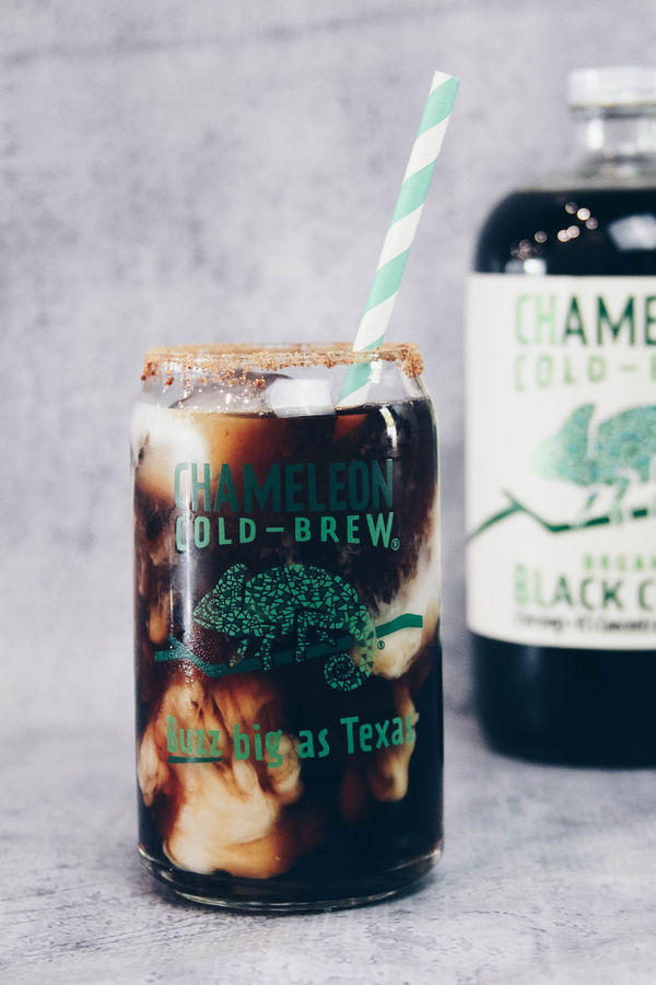 Toasted Coconut Cold Brew Latte