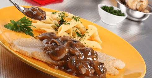 Filete de pescado a la meuniere