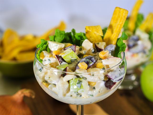 Ceviche en Salsa Blanca