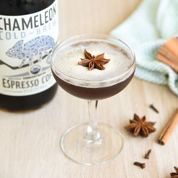 Spiced Espresso Cold Brew Martini