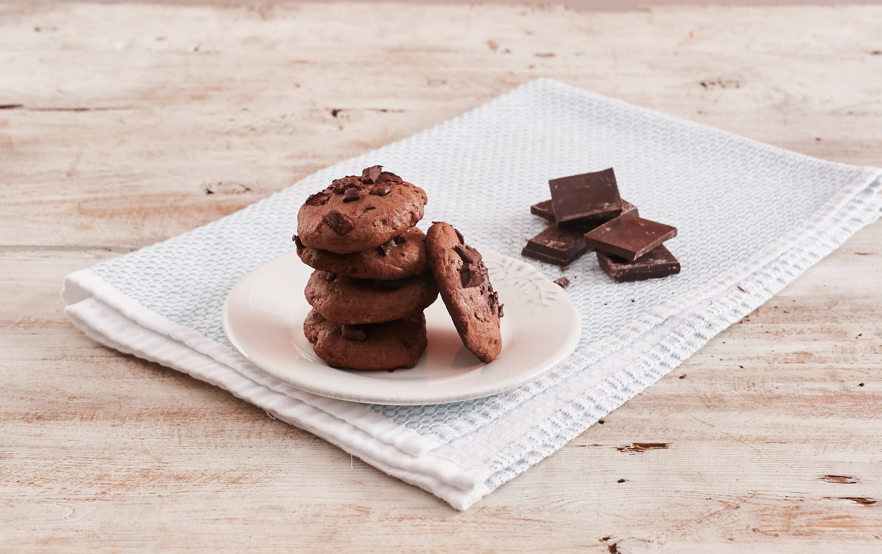 Galletas con Chocochip de Leche Condensada