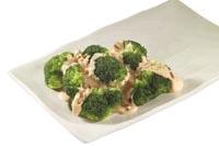 Brócoli en salsa de queso