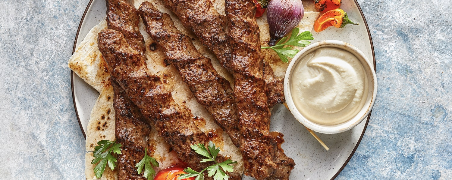 Grilled Kofta from the Middle East