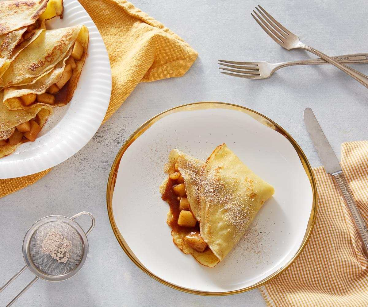 Apple Cinnamon Crêpes