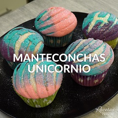 Manteconchas unicornio