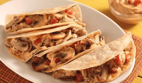 Tacos de champiñon