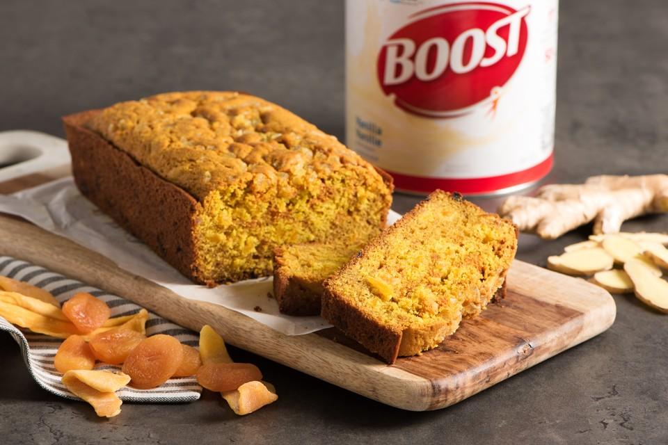 BOOST Ginger Turmeric Loaf