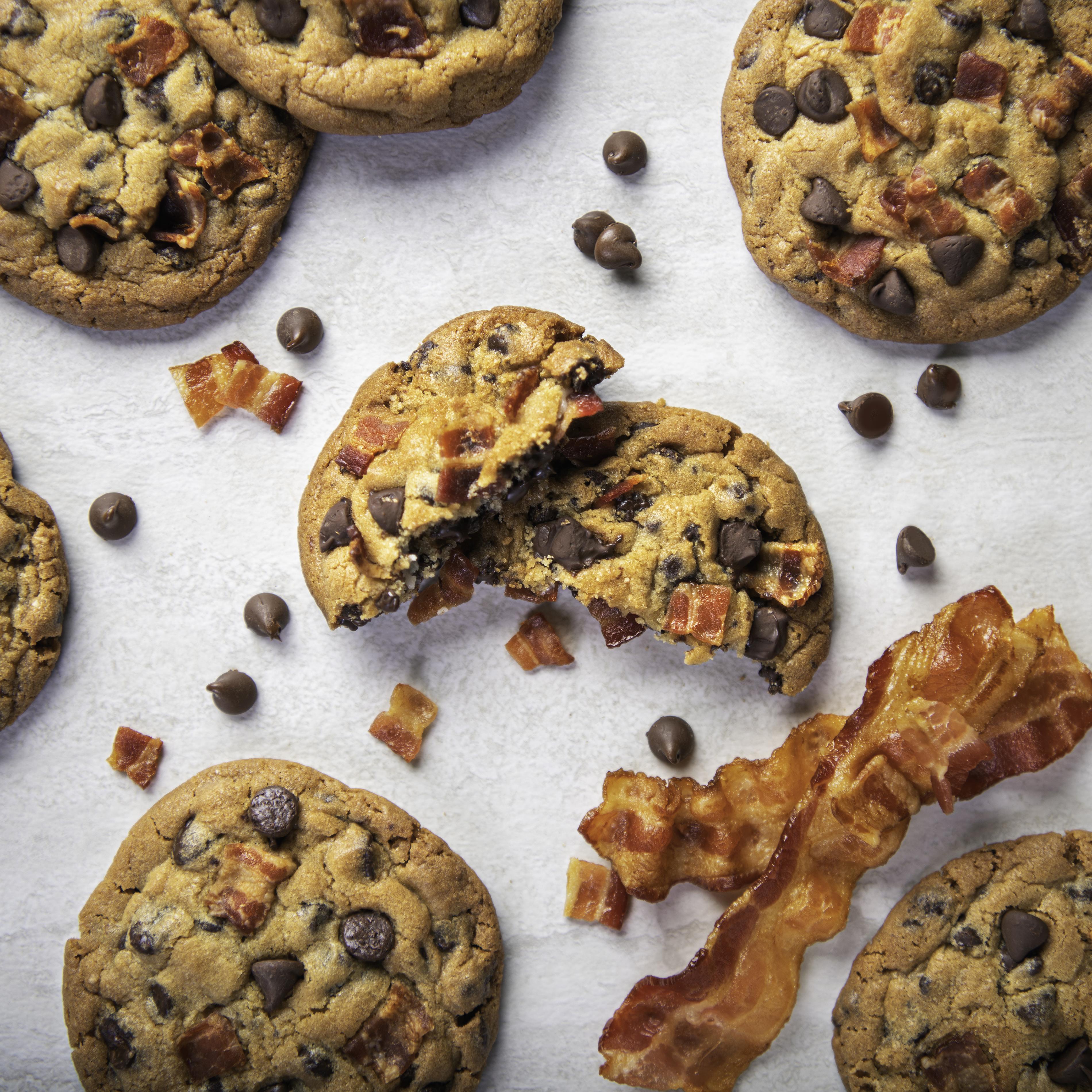 Bacon Stuffed Cookies