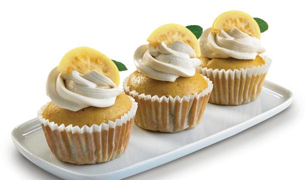 Muffins de guayabas