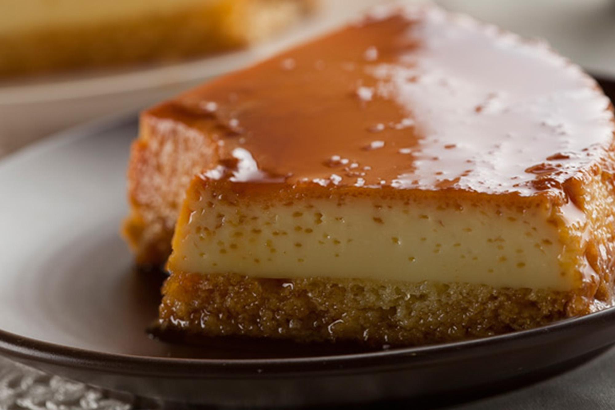 Torta flan con Leche Condensada