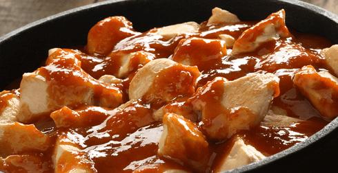 Pechugas de Pollo en salsa de membrillo