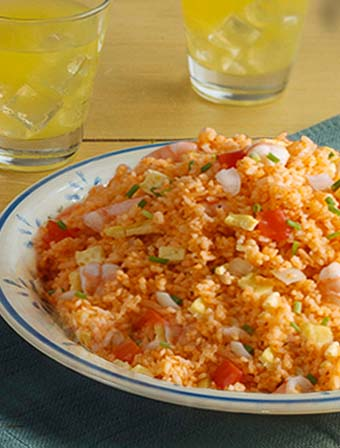 Aligue Fried Rice