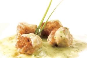 Albóndigas de pollo con avena
