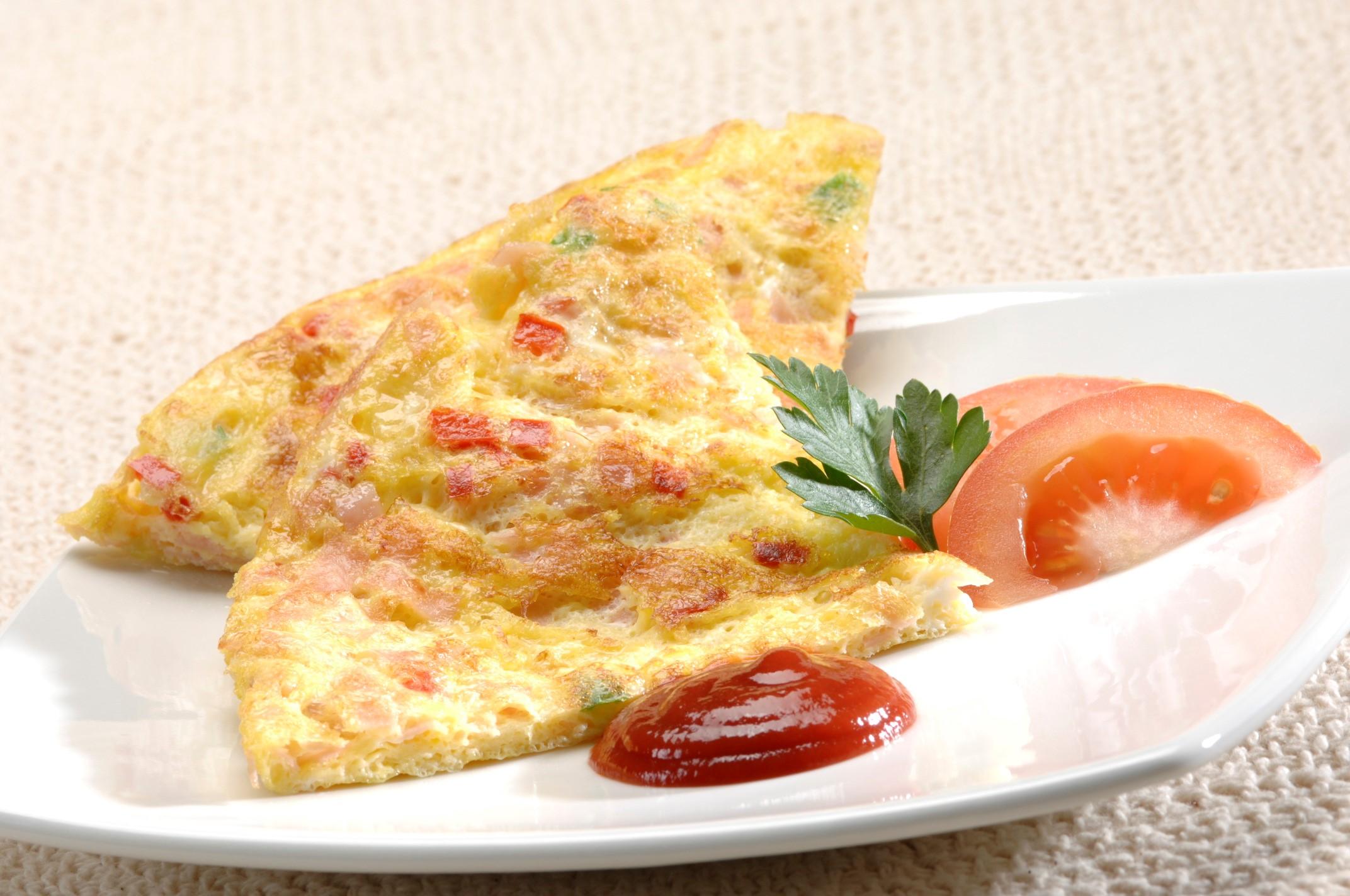Tortilla de Huevo con Queso