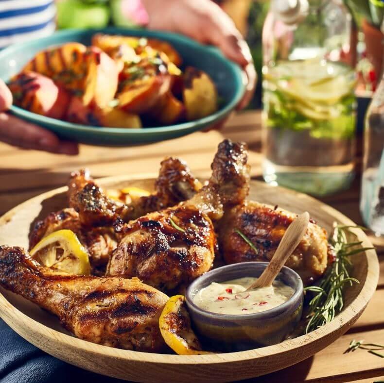 Grillowane pałki z kurczaka
