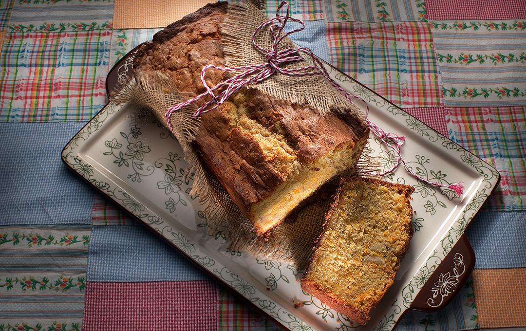 Pan de Guineo y Zanahoria