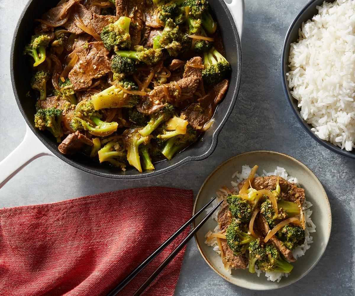 Broccoli and Beef Stir-Fry image