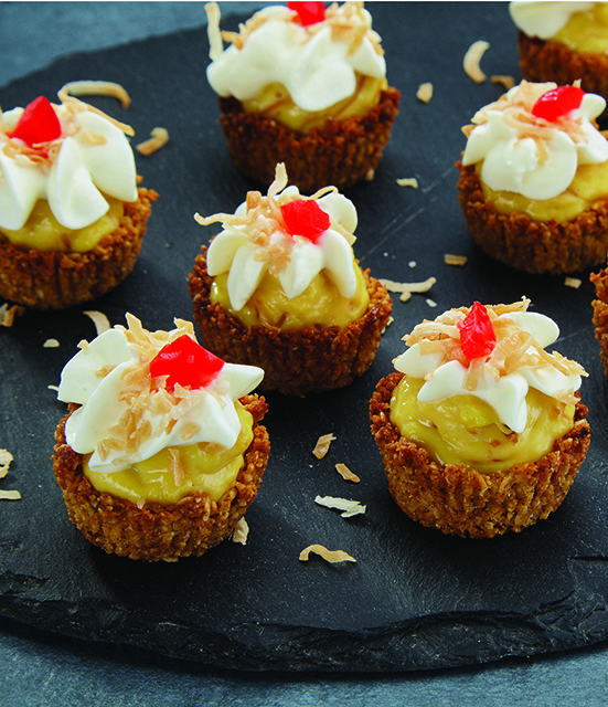 Mini Sawine Custard Cups
