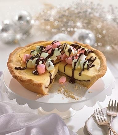 Cheesecake con bombones
