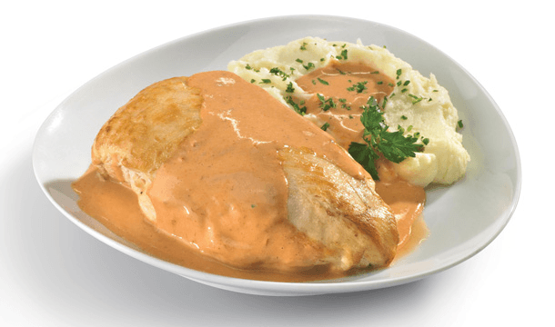 Pollo en salsa de chipotle