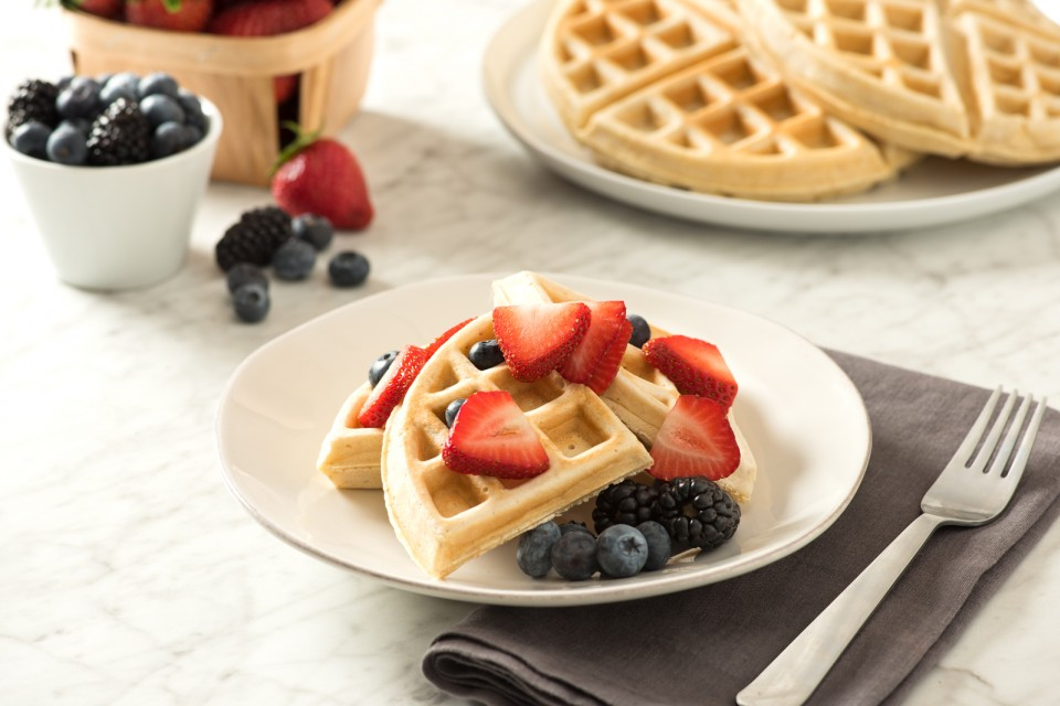 BOOST High Protein Homemade Toaster Waffles