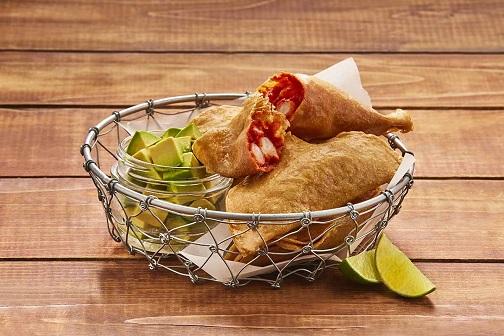 Quesadillas de camarón y chipotle